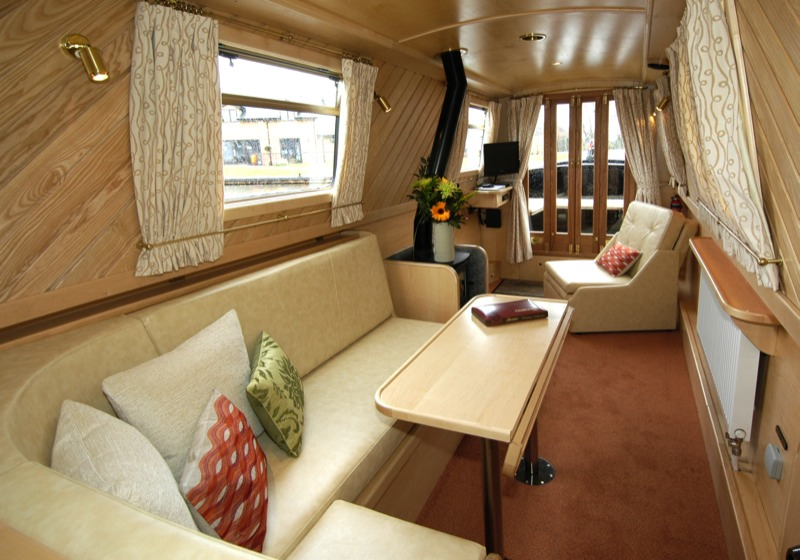 interior designer walnut designs narrowboat interior design