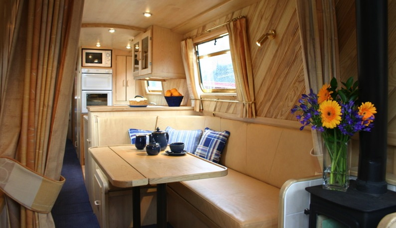 Interior Designer | Walnut Designs | Narrowboat Interior Design